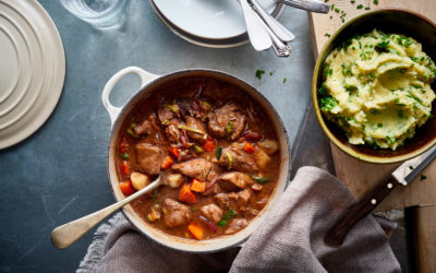 Lamb Casserole with Creamy Mashed Potato