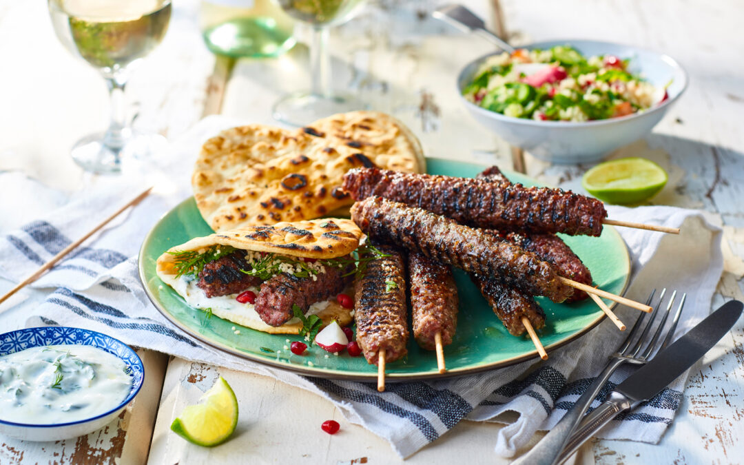 Bevan's Lamb Kofta with Moroccan Couscous
